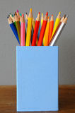 Colouring crayon pencils Stock Photography