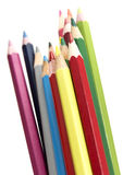 Colouring pencils Stock Image