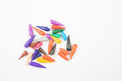 Colouring pencils. A selection of colouring pencils Royalty Free Stock Photography