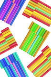 Colouring Pens Royalty Free Stock Photos