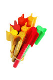 Colouring Pens Royalty Free Stock Images