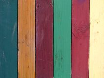 Colours. Coloured planks stock photo