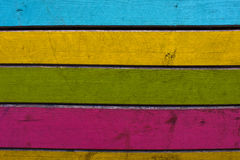 Colours. Wooden colorful sticks creating and interesting background Stock Image