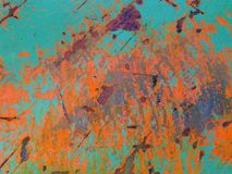 Colours. Rust on the boat royalty free illustration