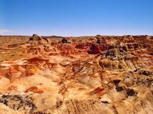 Colours. Taken in the Gobi Desert in Xinjiang (China Royalty Free Stock Image