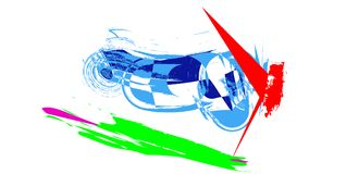 Colours , art , painting. Colours , paint ,vehicle vector illustration