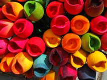 Colours, artistic background Stock Photography
