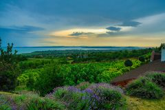 Colours of Balaton Uplands royalty free stock photos