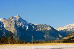Colours of Canadian Rocky Mountains Royalty Free Stock Photo