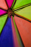 Colours. Colour in my umbrella royalty free stock photo