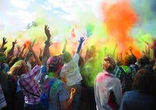 colours festiwalu holi Holi colour festiwal Holi festiwalu koloru wybuch Fotografia Royalty Free