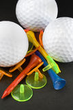 The colours of golf. Accessories Royalty Free Stock Images