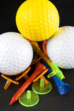 The colours of golf II. The colours of golf accessories Stock Photography
