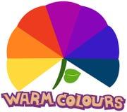 colours grżą ilustracji
