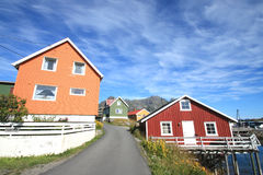 Colours of Henningsvaer Stock Photos