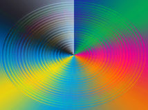 colours koło Zdjęcia Stock