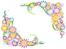 colours kwiatów wiosna royalty ilustracja