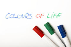 Colours of Life Royalty Free Stock Images