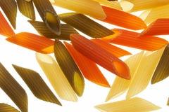 colours macaroni Arkivfoton