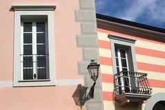 Colours of Mediterranean architecture Stock Photos