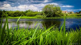 Colours of Nature. The nature of the city of Ukhta Stock Photography
