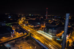 Colours of Ostrava fest night. Colours of Ostrava fest 2015, Czech Republic Stock Photo