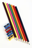 Colours pencils Royalty Free Stock Images