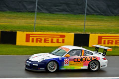 Colours porsche racing at Montreal Grand prix Stock Photography
