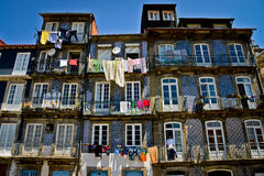 Colours of  Porto, Portugal Stock Images