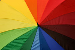 Colours of the rainbow Stock Images