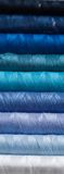 Colours of the season 3. A close-up of sewing cotton royalty free stock photography