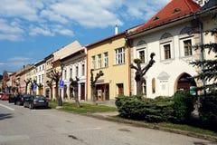 Colours stary miasteczko Zdjęcie Royalty Free