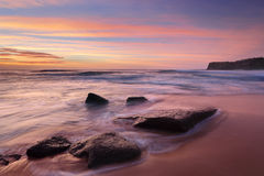 The colours of summer at Bungan beach Australia Stock Photography