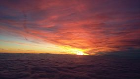 Colours of sunrise Stock Photos