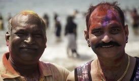 Colours Szczęśliwy Holi Fotografia Royalty Free