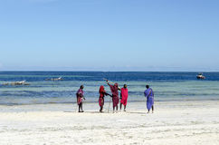 Colours Zanzibar Fotografia Royalty Free