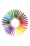 colourwheel铅笔 库存照片