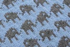Colourwork incagliato - lavorando a maglia Immagine Stock