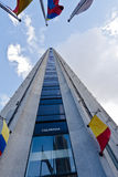Colpatria Building Bogota Colombia Stock Images