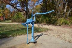 Colpetto del metallo di acqua potabile diretta Fotografie Stock
