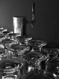 Colpetto della birra Fotografie Stock