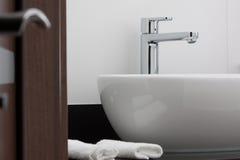 Colpetto della stanza da bagno Fotografia Stock Libera da Diritti