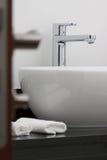 Colpetto della stanza da bagno Fotografia Stock