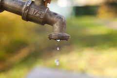 Colpetto di acqua Immagine Stock Libera da Diritti
