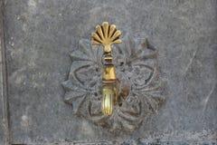 Colpetto di acqua turco di stile dell'ottomano Fotografia Stock