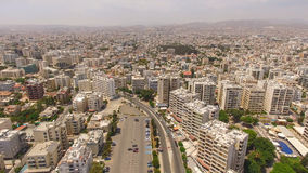 2 colpi della città di Limassol nel Cipro Fotografie Stock Libere da Diritti