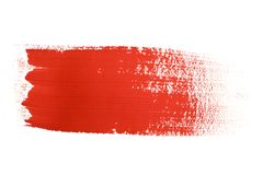 Colpi della spazzola Immagine Stock