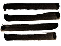 Colpi della spazzola Fotografie Stock