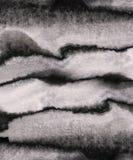 Colpi della spazzola di lerciume dell'acquerello Fotografia Stock Libera da Diritti