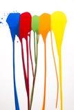 Colpi di colore Immagine Stock